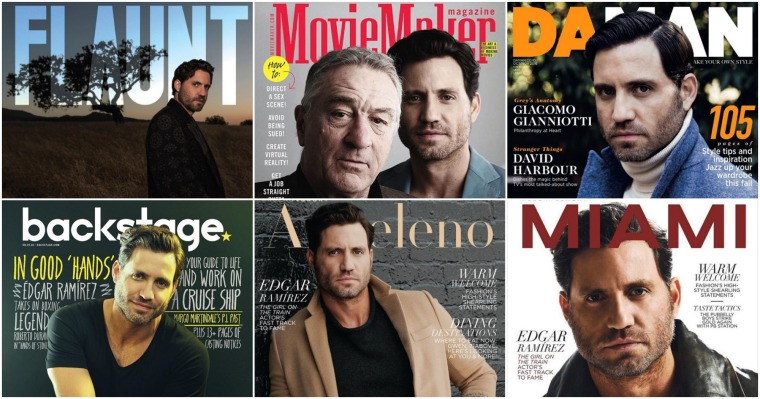 Las portadas de Edgar.
