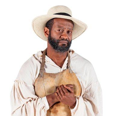 Modesto Lacén como Tomás en 'La esclava blanca'