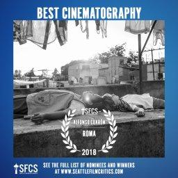 Seattle Film Critics Society -Mejor Cinematografía
