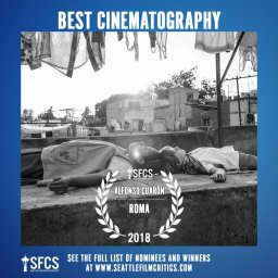 Seattle Film Critics Society -Mejor Cinematografía
