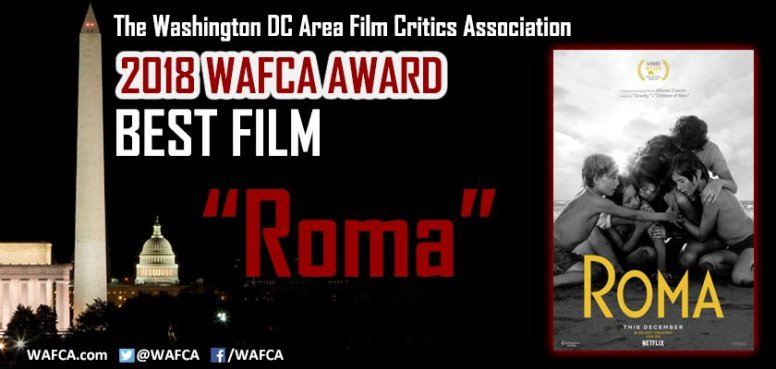 Washington DC Area Film Critics Assoc. - Mejor Película