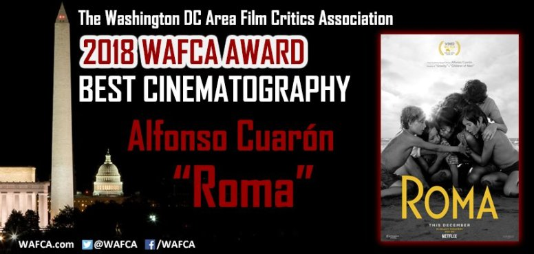 Washington DC Area Film Critics Assoc. - Mejor Cinematografía